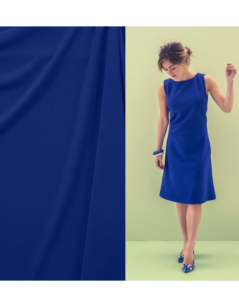 Piqué Stretch PS3 - cobalt blue