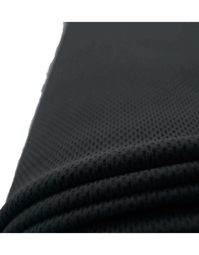 Piqué Stretch PS4 - zwart