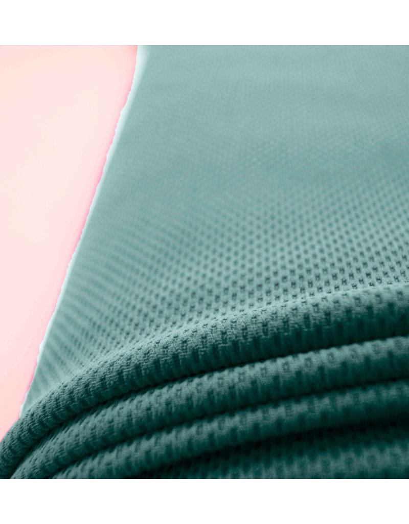 Piqué Stretch PS6 - pudergrün
