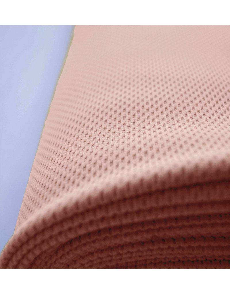 Piqué Stretch PS7 - rose saumon clair