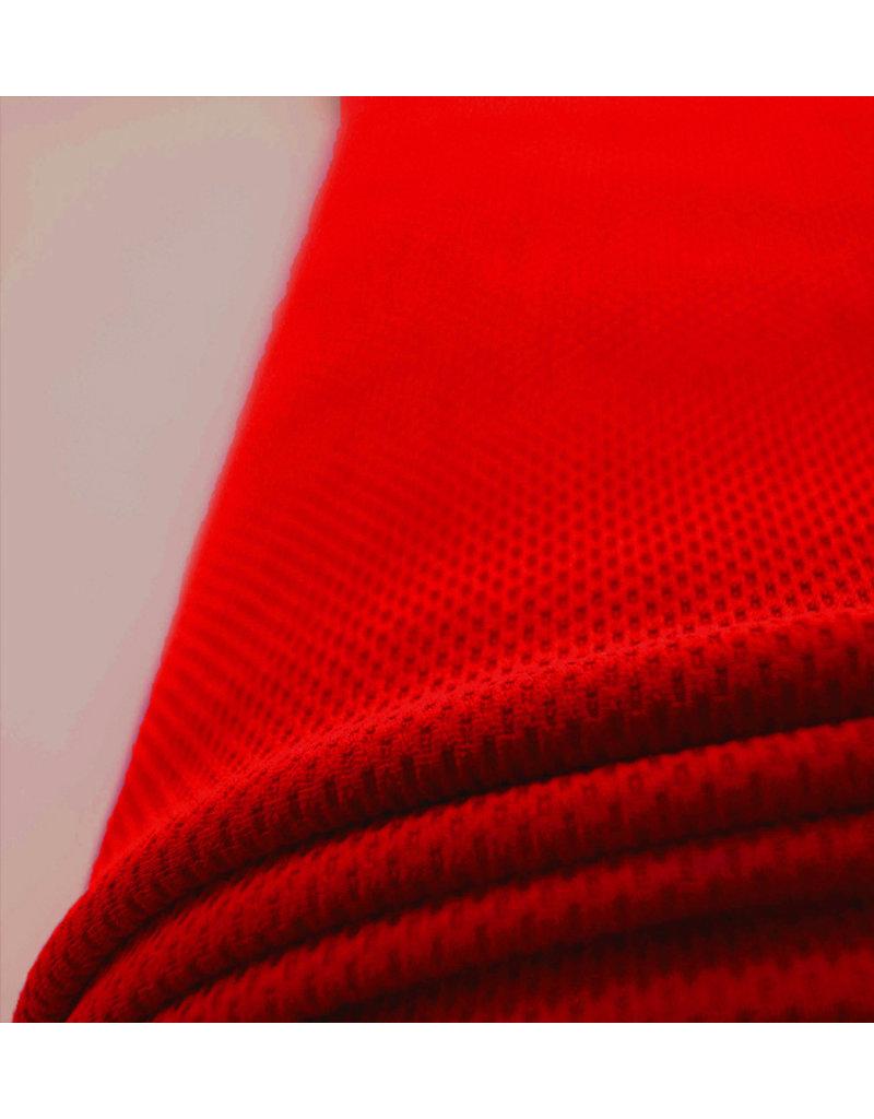 Piqué Stretch PS13 - leuchtend rot