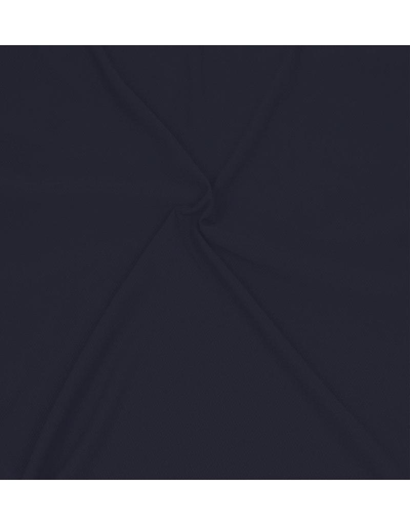 Piqué Stretch PS14 - bleu nuit
