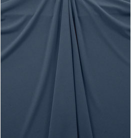 Piqué Stretch PS16 - denim blauw - MOUT