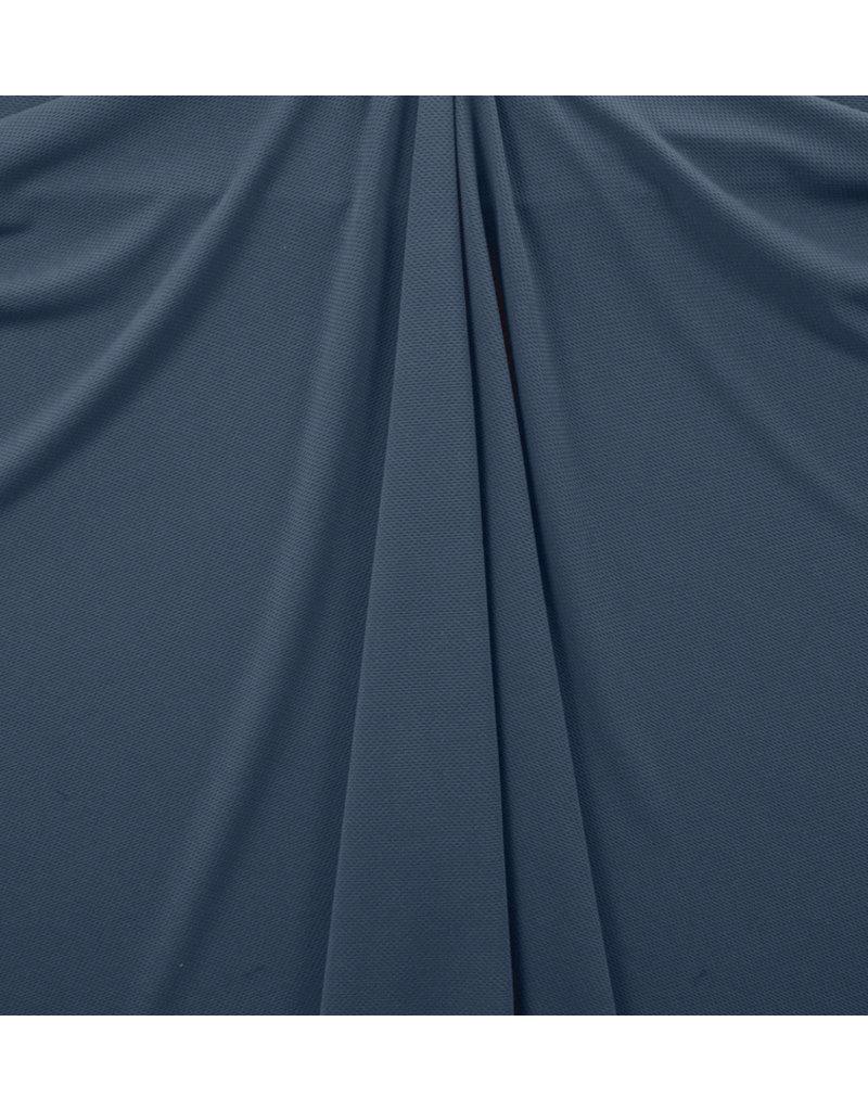 Piqué Stretch PS16 - Jeansblau