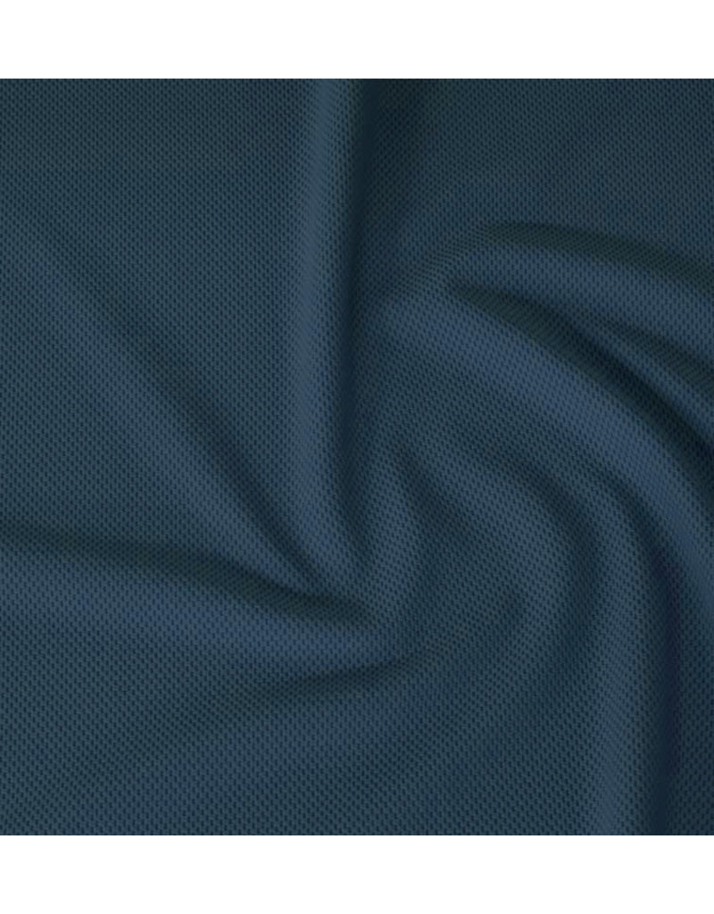 Piqué Stretch PS16 - bleu jean