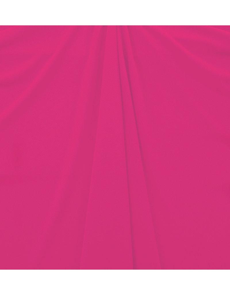 Piqué Stretch PS18 - dunkle Fuchsie