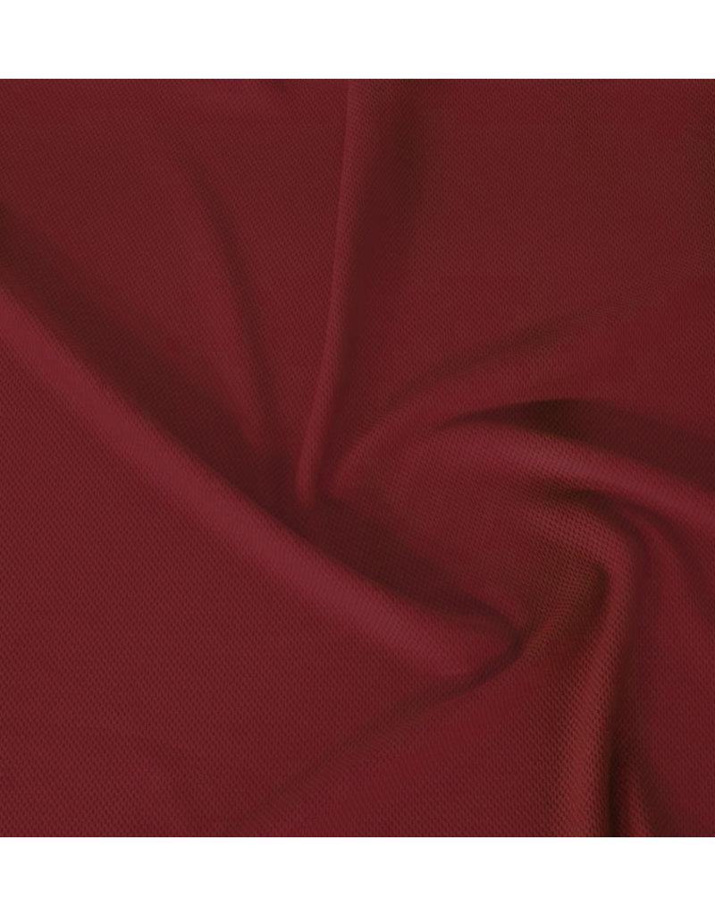 Piqué Stretch PS24 - rouge foncé