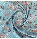 Mousseline de polyester avec application 2151