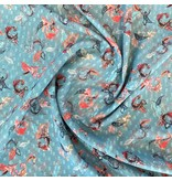 Polyester Chiffon with Application 2151