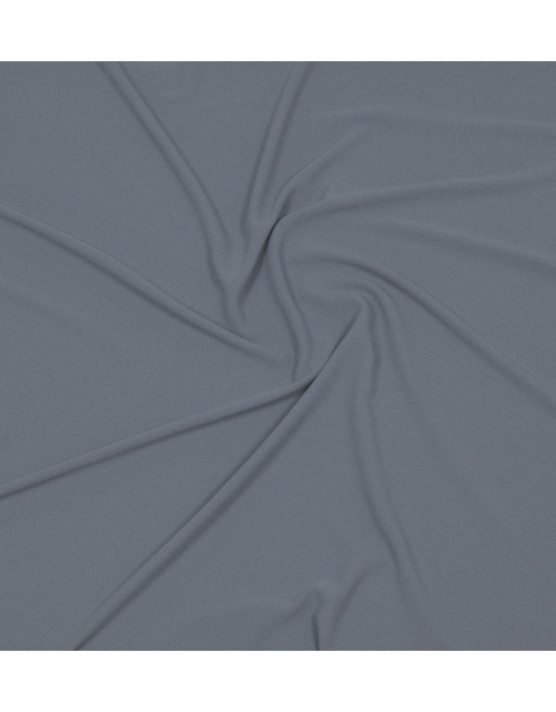 Mousseline gaufrée SC01 - jean bleu