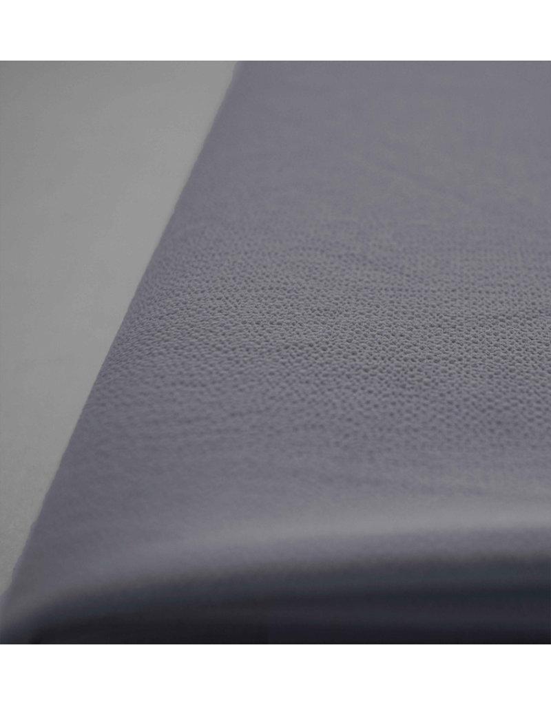 Geprägter Chiffon SC01 - Jeans blau