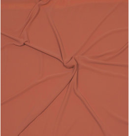 Embossed Chiffon SC03 - brique / orange