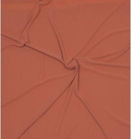 Mousseline de soie gaufrée SC03 - brique / orange