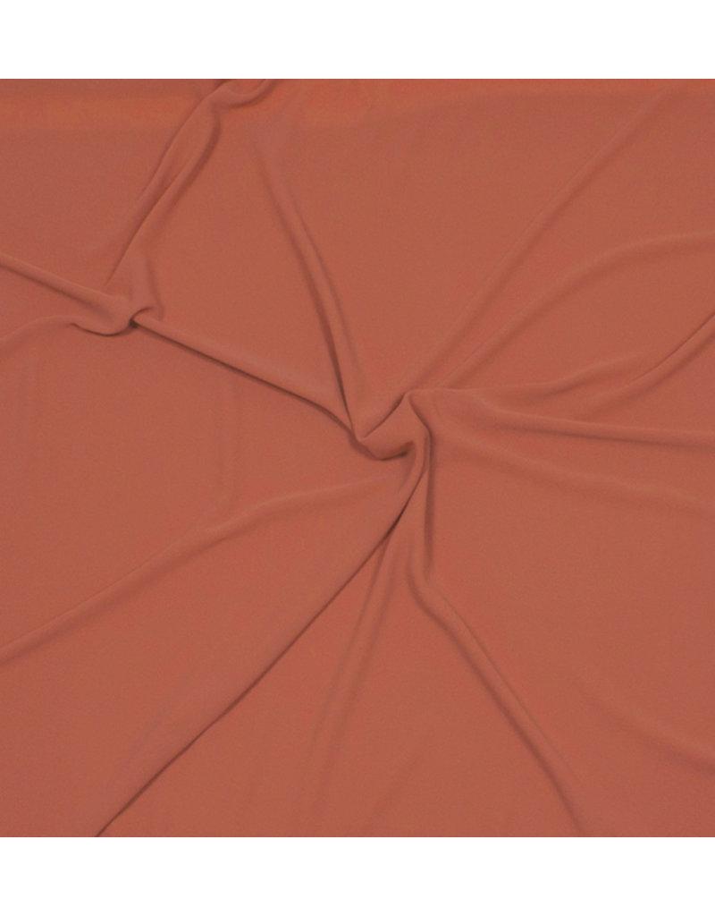 Embossed Chiffon SC03 - brique / orange