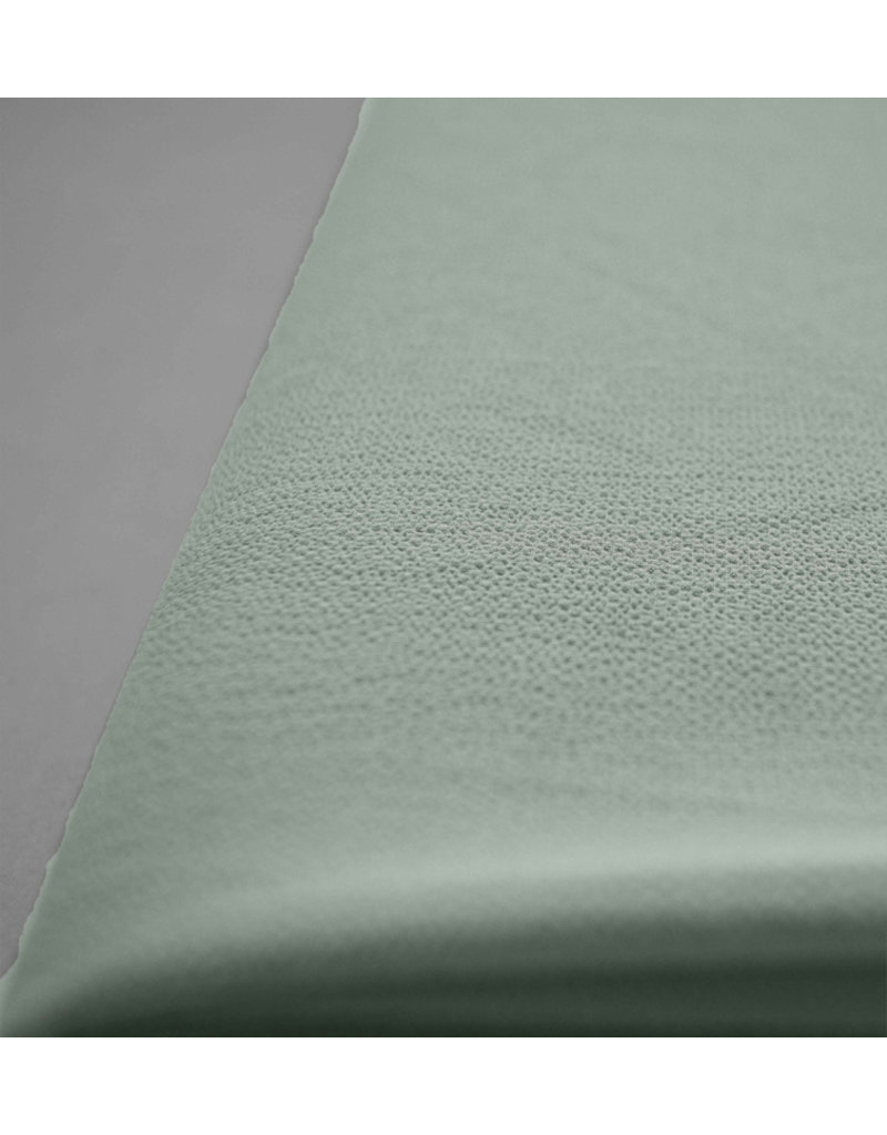 Mousseline en relief SC06 - vert menthe