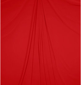 Embossed Chiffon SC12 - bright red