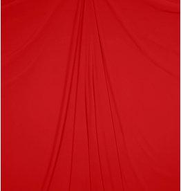 Mousseline de soie gaufrée SC12 - rouge vif