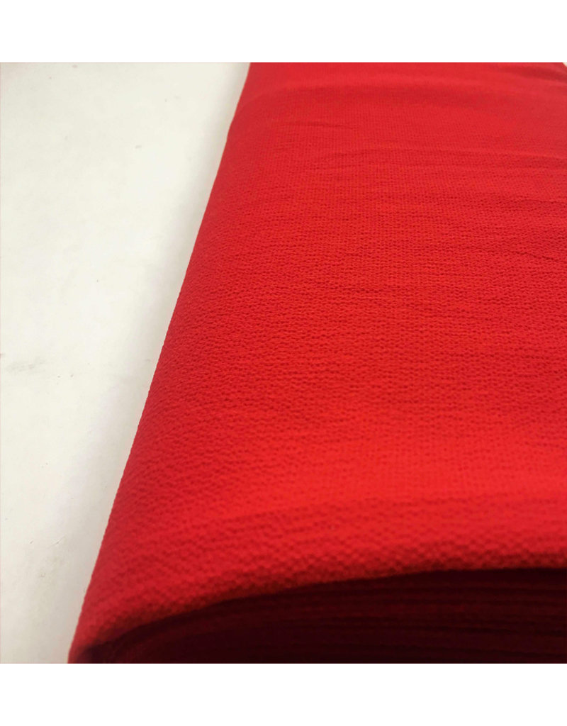 Geprägter Chiffon SC12 - leuchtend rot