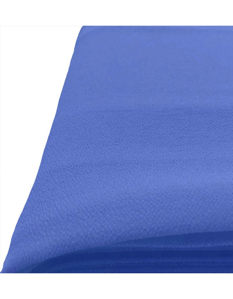 Reliëf Chiffon SC16 - licht kobaltblauw