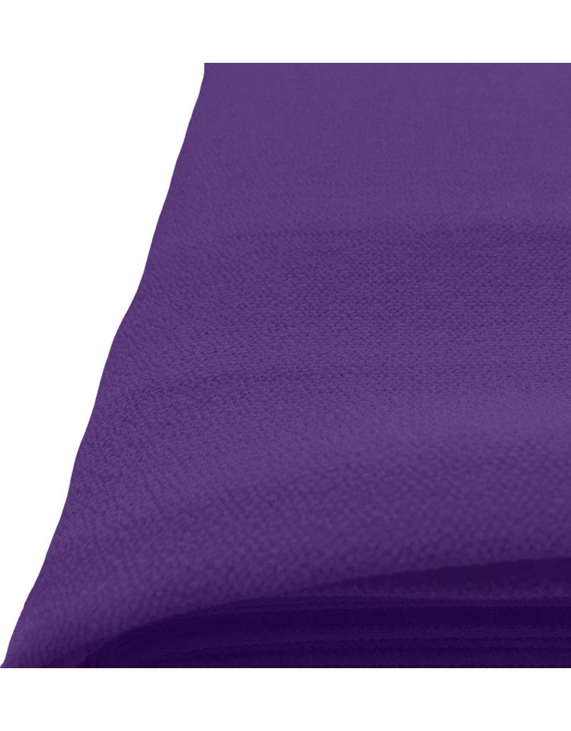 Mousseline de soie gaufrée SC18 - violet