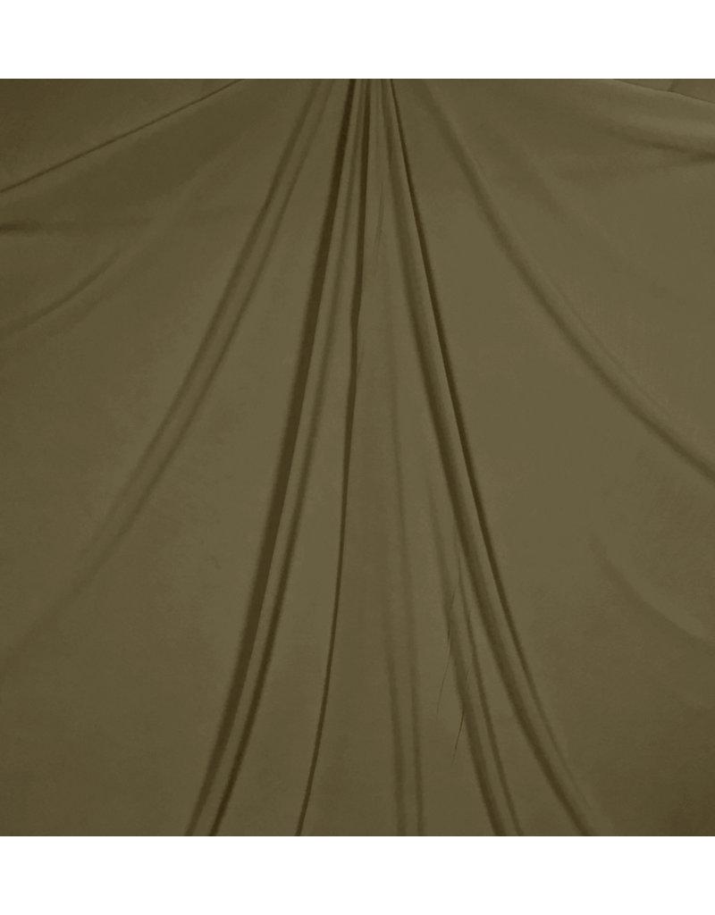 Reliëf Chiffon SC20 - legergroen