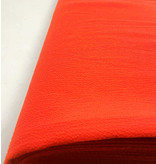 Mousseline en relief SC21 - orange