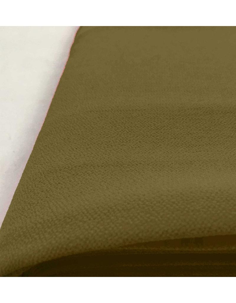 Mousseline en relief SC22 - vert olive