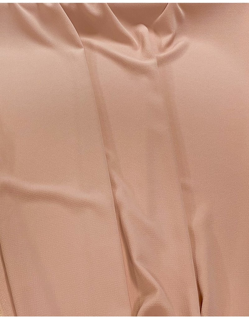 Mousseline de soie gaufrée SC30 - abricot