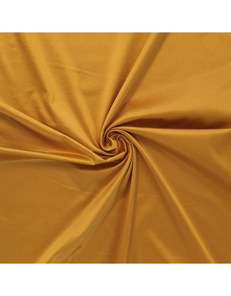 Glossy Cotton Uni S33 - golden yellow