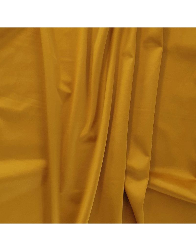 Glans Katoen Uni S33 - goudgeel