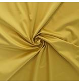 Glänzende Baumwolle Uni S34 - gelb