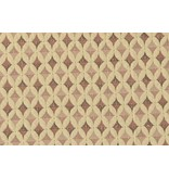 Jacquard Knitted W100 - cream / pink / beige