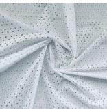 Cotton Embroidered white - 396