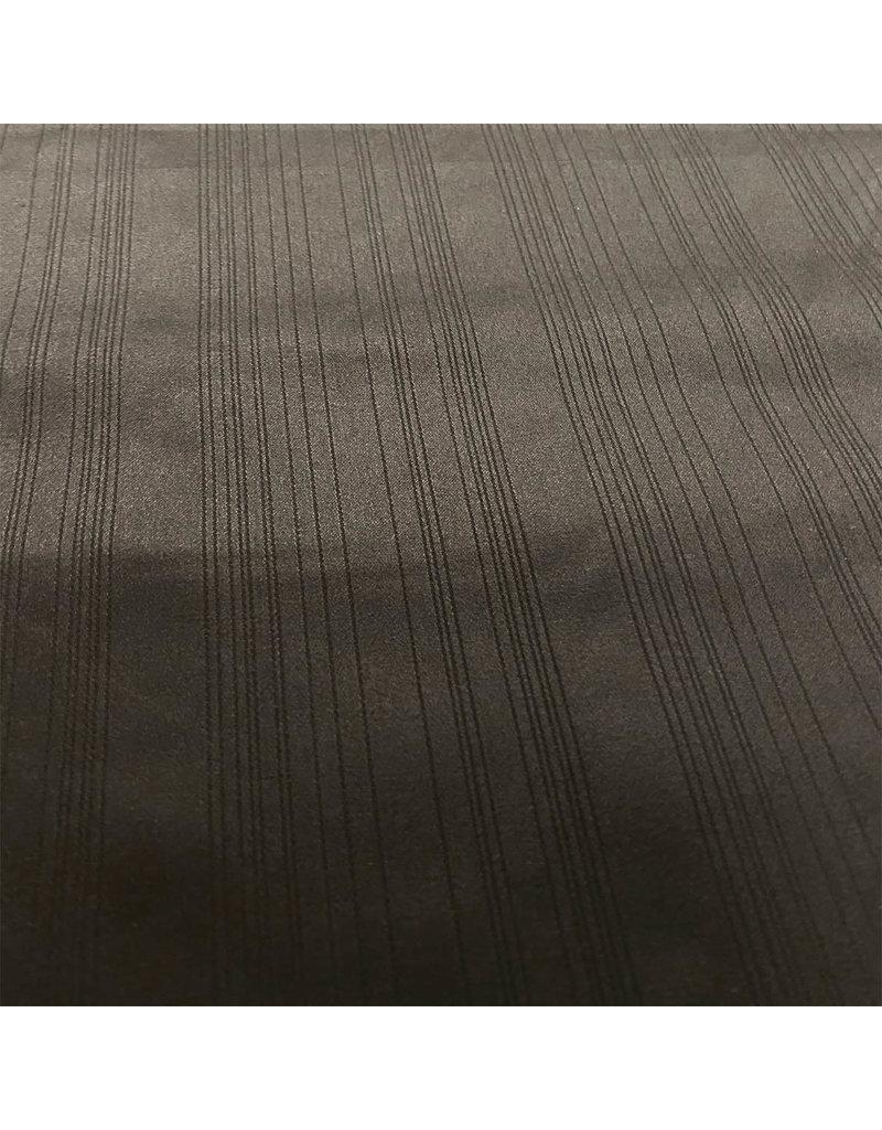 Coton Satin Uni 0069 - noir