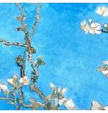 Jet d'encre coton brillant 2191 - Van Gogh / Fleur d'amandier