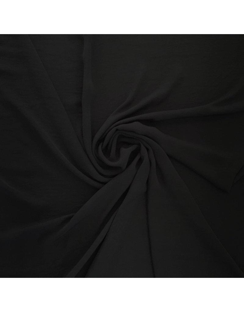 Leichtes Leinen AL15 - schwarz