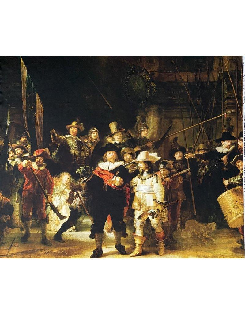 Punta di Roma+ 2188 - Rembrandt van Rijn  / Nachtwacht