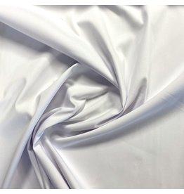 Satin Cotton Stretch - white - 1091