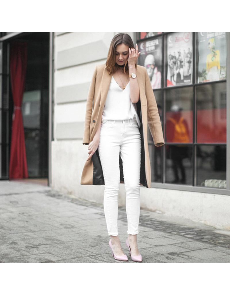 Stretch Jeans JE01 - gebroken wit