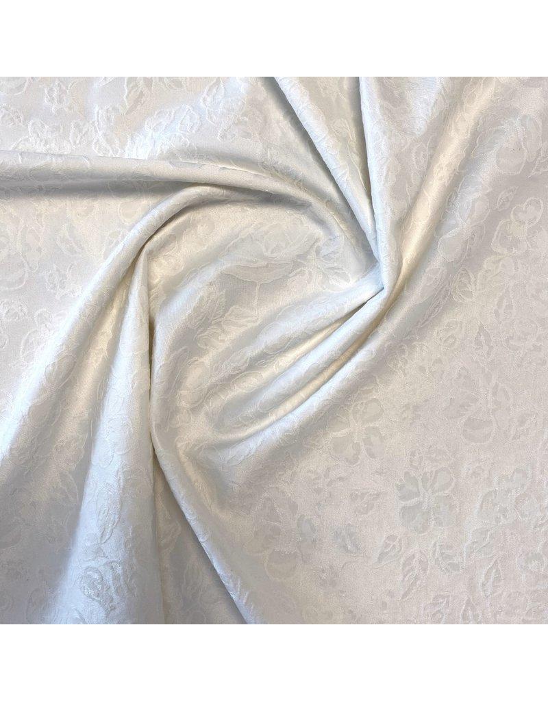 Jacquard Stretch 2201 - weißlich
