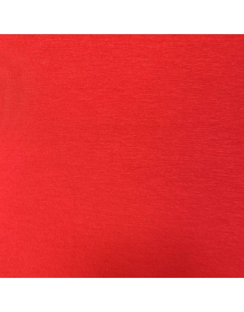 Premium Viscose Jersey PV19 - fel rood
