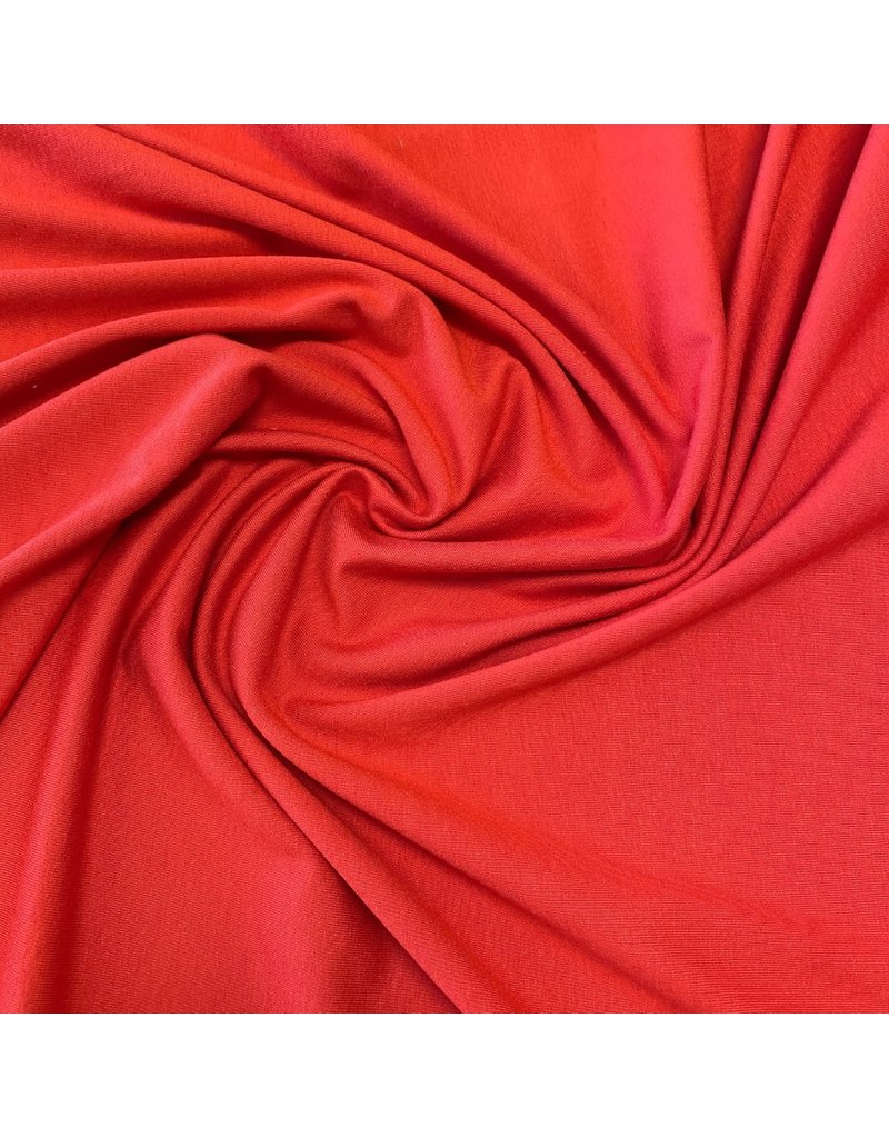 Premium Viscose Jersey PV19 - bright red