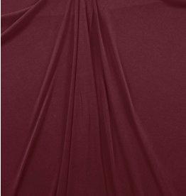 Jersey modal C09 - rouge foncé