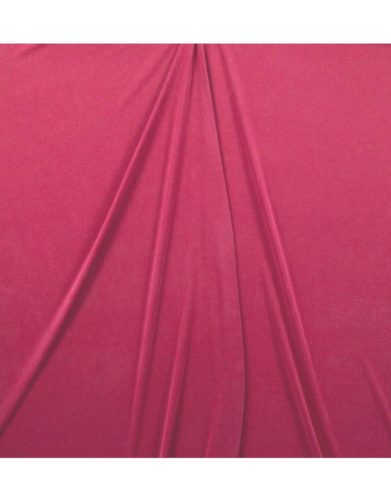 Modal Jersey C25 - donker fuchsia