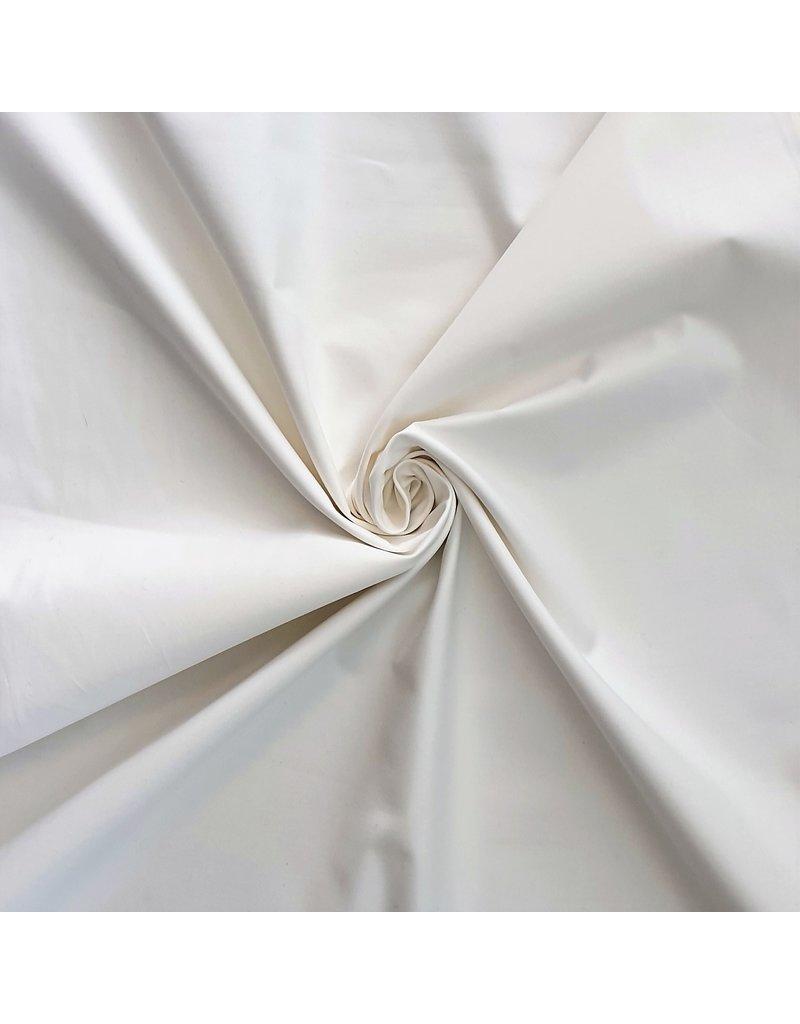 Katoen Poplin 2219 - gebroken wit