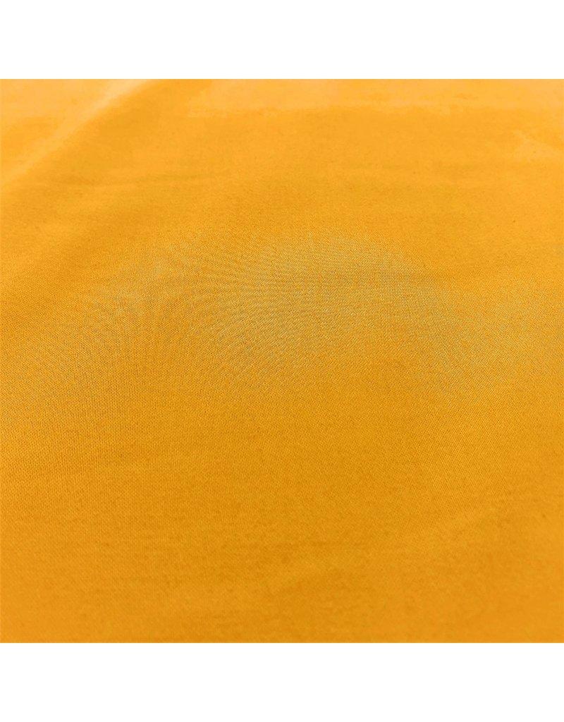 Coton Satin Uni 0070 - jaune d'été