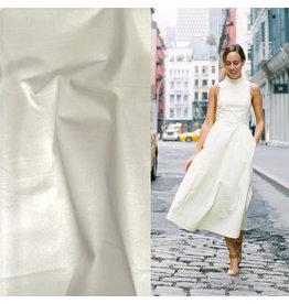 Satin Cotton Stretch 714 - blanc cassé