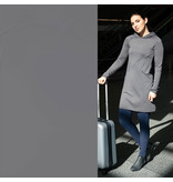 Travel Stretch Jersey BJ13 - licht grijs