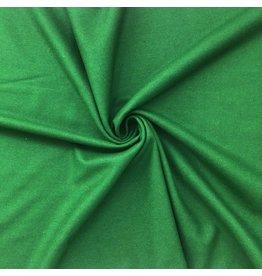 Wollen Mantel Stof KW01 - groen