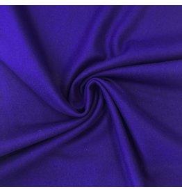 Tissu de manteau en laine KW02 - bleu cobalt